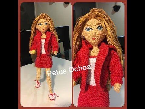 Девушка Пикачу крючком, часть 1 (Ноги, часть 1). Crochet Pikachu girl, part 1 (legs, part 1). - YouTube