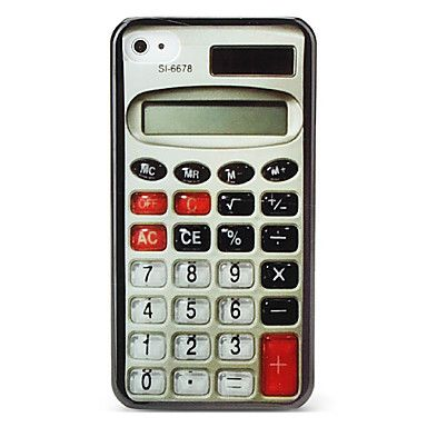 Kalkulatorstil case for iPhone 4 /4S