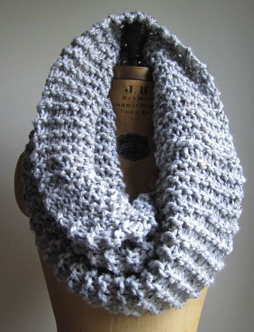 Excited to get my knitting needles out for Fall. Chunky knit scarves - I can never have enough.