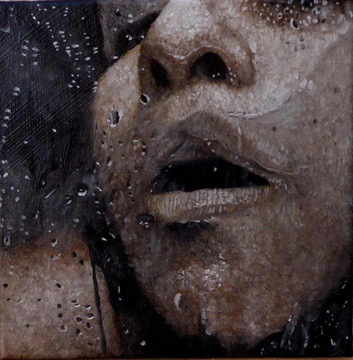 Oil on Canvas 16,5 x 16,5cm 2014