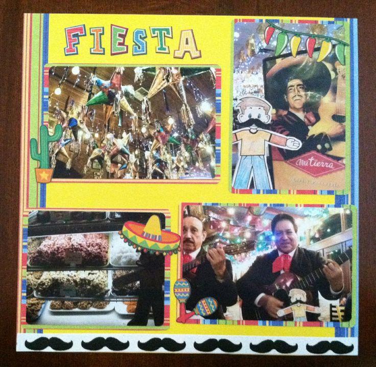 Flat Stanley dines at Mi Tierra in San Antonio, Texas