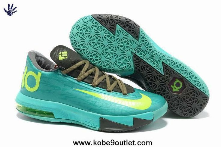 Nike Zoom KD 6 Sport Turquoise/Greybeautiful in colorsprofessional online store