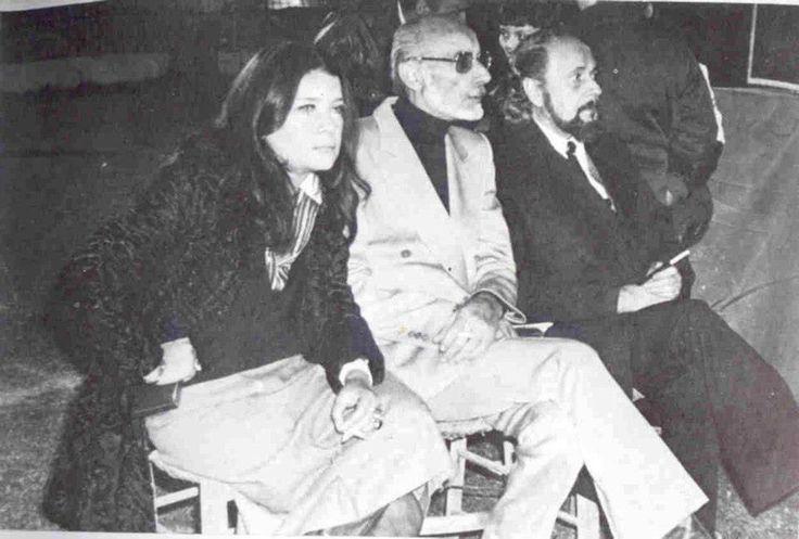 Τζένη Καρέζη- Μάνος Κατράκης- Γιάννης Ρίτσος