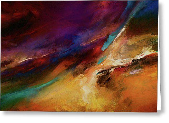 Storm At Sea Greeting Card by Michael Lang