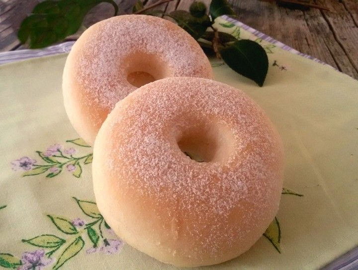 хрустящие пончики