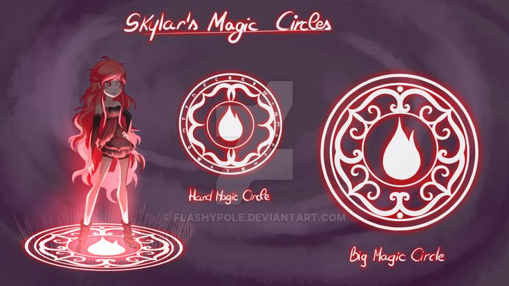 Princess skylar 39 s magic circles by flashypole lolirock - Magic le dessin anime ...