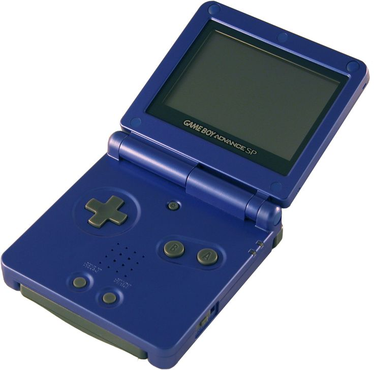 -Nintendo Gameboy Advance Sp- I had one of these but i dropped it in the toilet...