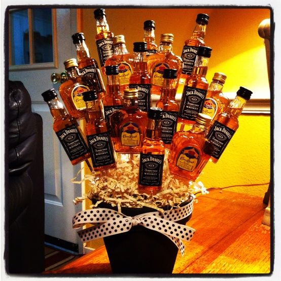 I want to suprise my future husband & his guys for his bachelor party with this man flowers ...