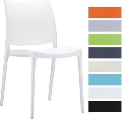 Design Küchenstuhl, Stapelstuhl, Gartenstuhl MAYA, stapelbar, wasserabweisend, UV-beständig (bis zu 8 Farben wählbar) Jetzt bestellen unter: https://moebel.ladendirekt.de/kueche-und-esszimmer/stuehle-und-hocker/esszimmerstuehle/?uid=0c7eaa1e-d90f-5d81-ae72-ffc3b9799b44&utm_source=pinterest&utm_medium=pin&utm_campaign=boards #kueche #esszimmerstuehle #esszimmer #eckbänke #hocker #stuehle