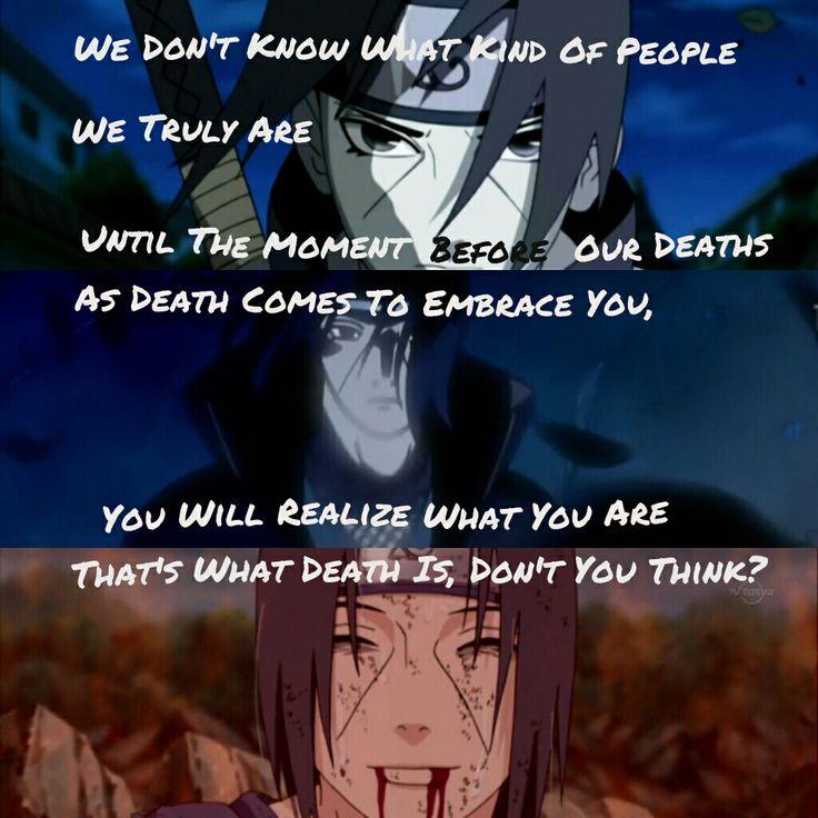 Itachi Uchiha Quotes. QuotesGram