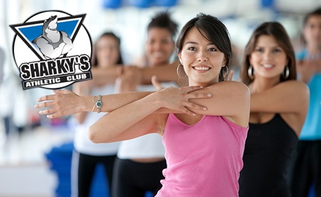 One month membership to Sharky's Athletic Club. Sharky's Athletic Club specializes in personal training, offering two aerobics studios, cardio conditioning and weight training at its 13,000 square-foot facility on the Golden Mile. In business since 1999, Sharky's is co-owned by Cindy vanHoogenhuize and Chris Ttofalli.