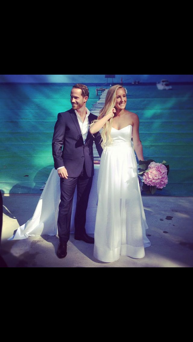 Wedding dresses and suit