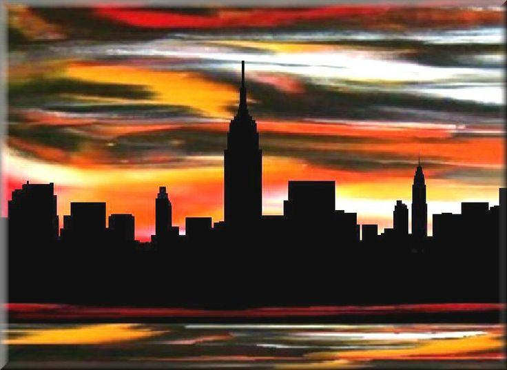 sunrise sunset buffalo new york new york city art print