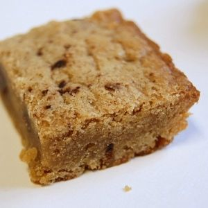 Simple Blondies Recipe - Made These Yesterday (Without Chocolate Chips) - Turned Out Really Good - Impossible To Screw Up!