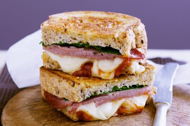 Gruyere cheese adds a touch of elegance to these tasty sandwiches!