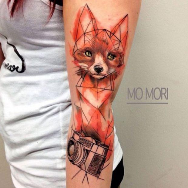 15 Mischievous Fox Tattoos Part 2