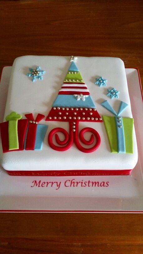 Christmas tree cake. Thanks to Pinterest.