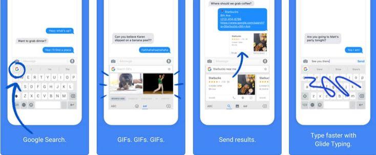 Teclado Google Gboard com novidades no iOS