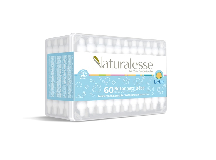 Naturalesse packaging - baby cotton buds