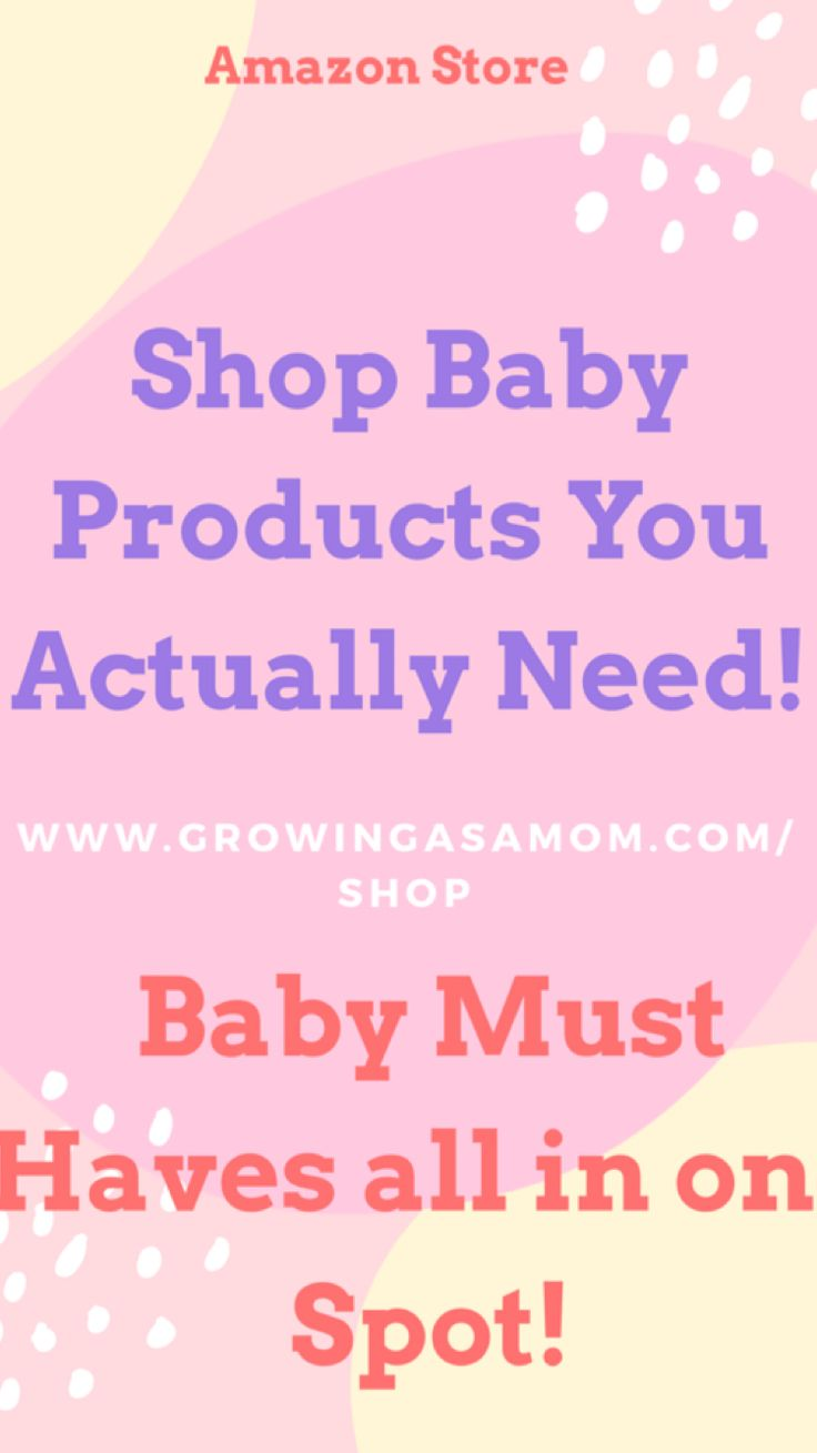 www.growingasamom.com/shop is your one stop shop for all things baby! Find the best baby shower gifts and shop baby registry products! #babyproducts #shopbaby #babyshower #babygifts