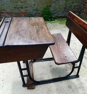 1000 images about Vintage school desk on Pinterest
