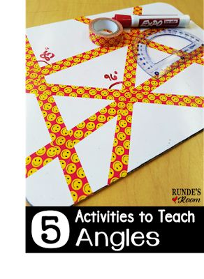 5 Activities to Teach Angles                                                                                                                                                                                 More
