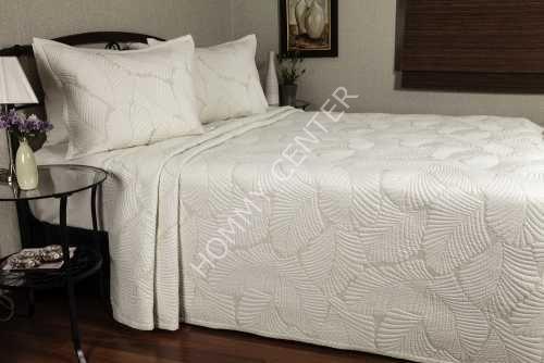 Begonville Mendoza Krem Yatak Örtüsü Tek Kişilik | Begonville | Yatak Setleri
