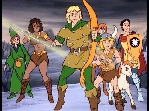 Dungeons & Dragons 1983 cartoon EP.20 ita