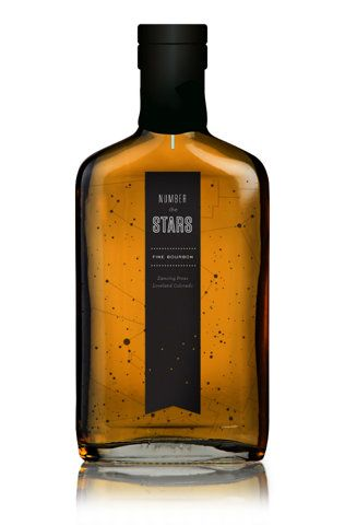 the stars label #alcohol #designinspiration #products