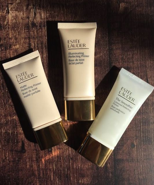 Estee Lauder Perfecting Primer |  Illuminating Perfecting Primer-  This primer is your push up bra. Lifting, plumping and attracts the light. This is for those with dryness, pigmentation, and dullness.