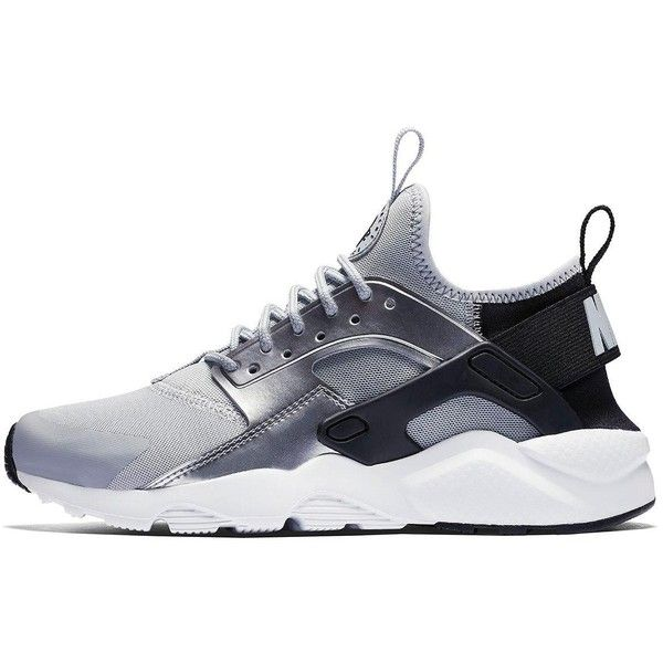 Nike Nike Air Huarache Run Ultra Junior Trainer ($86) ❤ liked on Polyvore featuring shoes, sneakers, fleece-lined shoes, nike, nike sneakers, nike footwear and nike trainers
