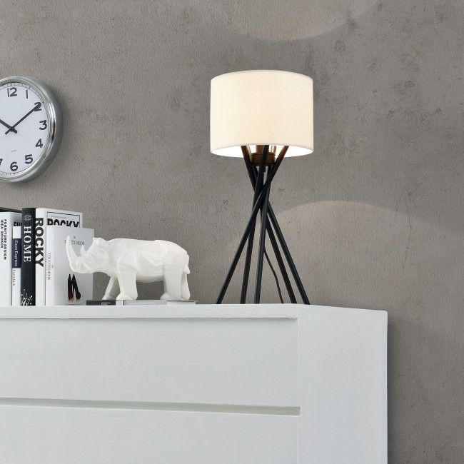 [lux.pro] Elegante Tischlampe - Mikado - (1 x E14 Sockel)(57 cm x Ø 25 cm) Schreibtischlampe oder Nachttischlampe - Asztali lámpák - Beltéri világítás - Világítás - premiumxl Shop