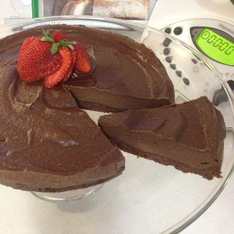 Recipe Raw Chocolate Cheesecake (Gluten/Dairy/Grain Free) by therMELicious - Recipe of category Desserts & sweets
