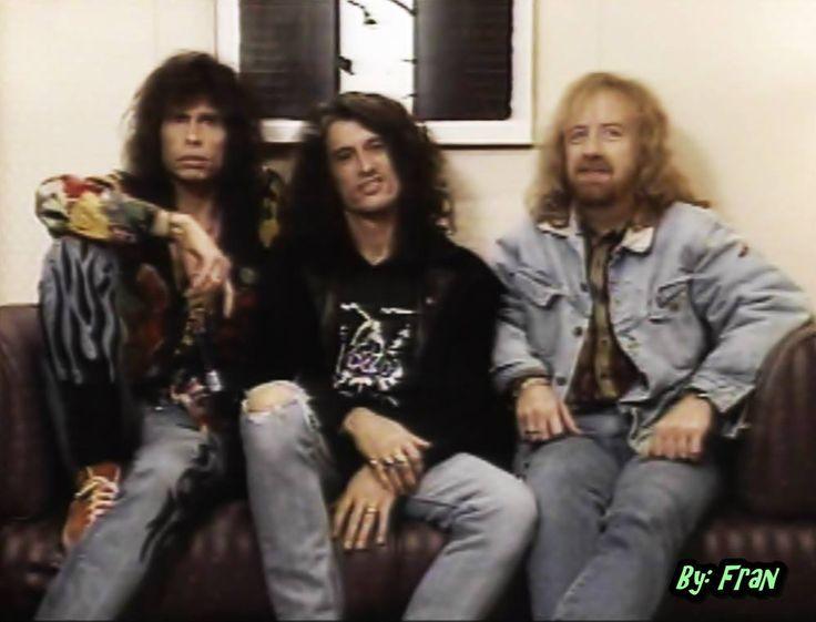Steven Tyler , Joe Perry & Brad Whitford