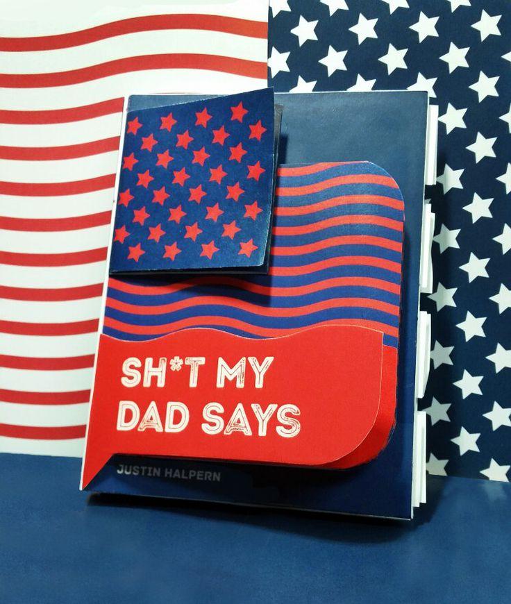 """다음 @Behance 프로젝트 확인: """"SH*T MY DAD SAYS / REDESIGN COVER"""" https://www.behance.net/gallery/36008069/SHT-MY-DAD-SAYS-REDESIGN-COVER"""