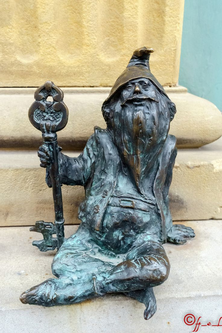 Dwarf in Wroclaw Old Town, Poland (January 2015)