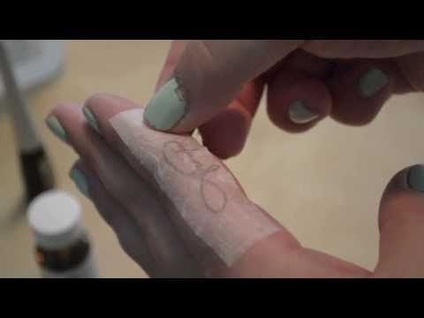 DIY Custom Temporary Tattoo: Lasts 1-2 weeks - YouTube