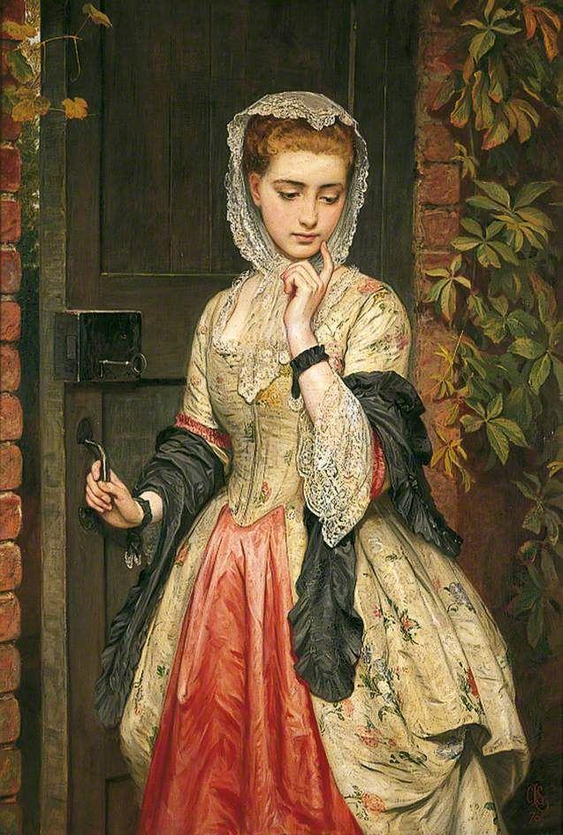 Una niña en clase - Charles Lidderdale