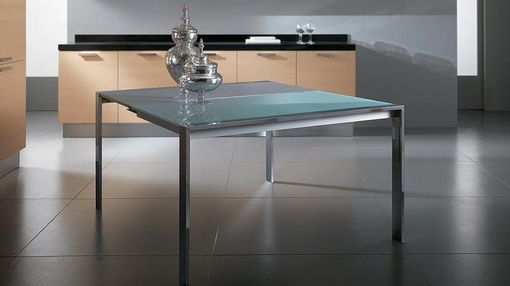 Slim table. #Scavolini