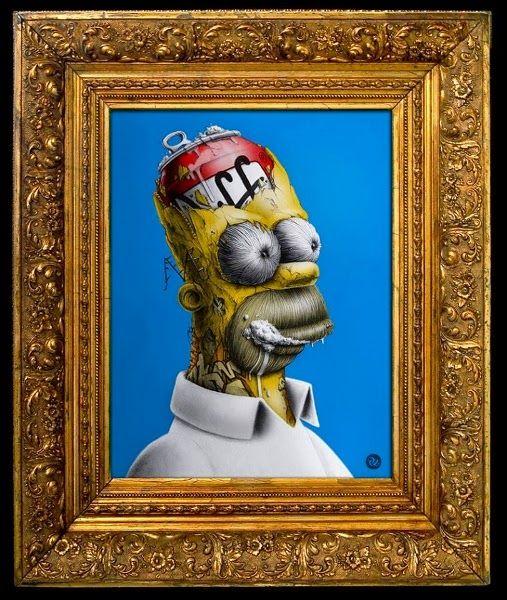 Homer Simpson Duff Morto-Vivo / Zumbi