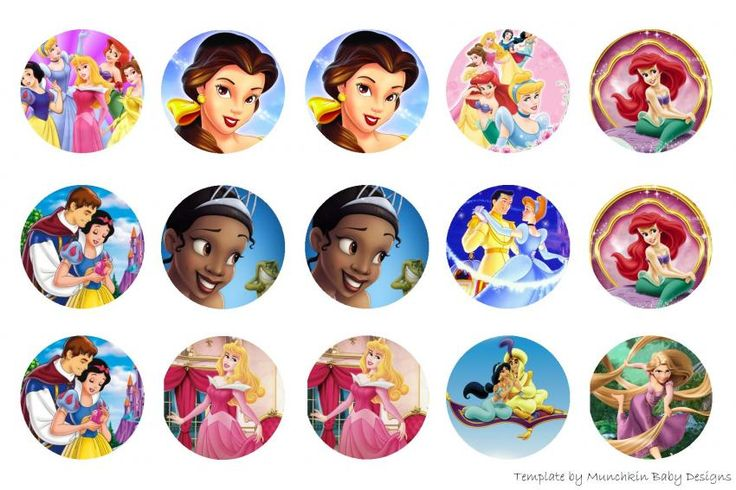 Disney Princesses. Some bottle cap images that i've found for free in this website: http://hipgirlclips.com/forums/free-cycling/