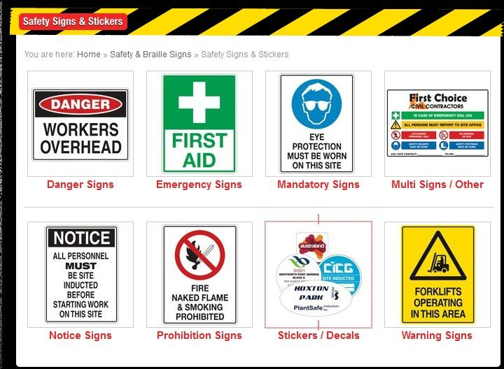 Civiqip understands the safetysignage needs and offer products for the same