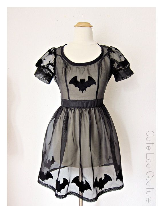 bat girl summer dress