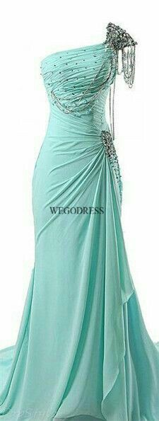 Mint green, vintage inspired prom gown