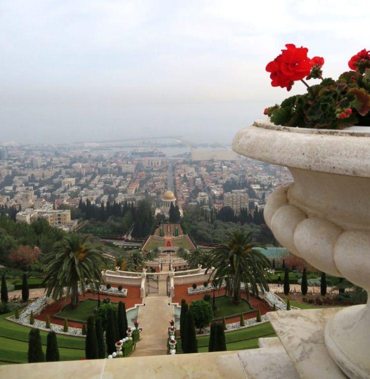 Favorite Israel Vacation Experiences : The immaculate Baha'i Gardens in Haifa
