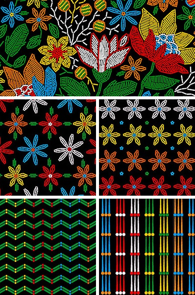 maracatu collection | pattern + coordinates | © wagner campelo