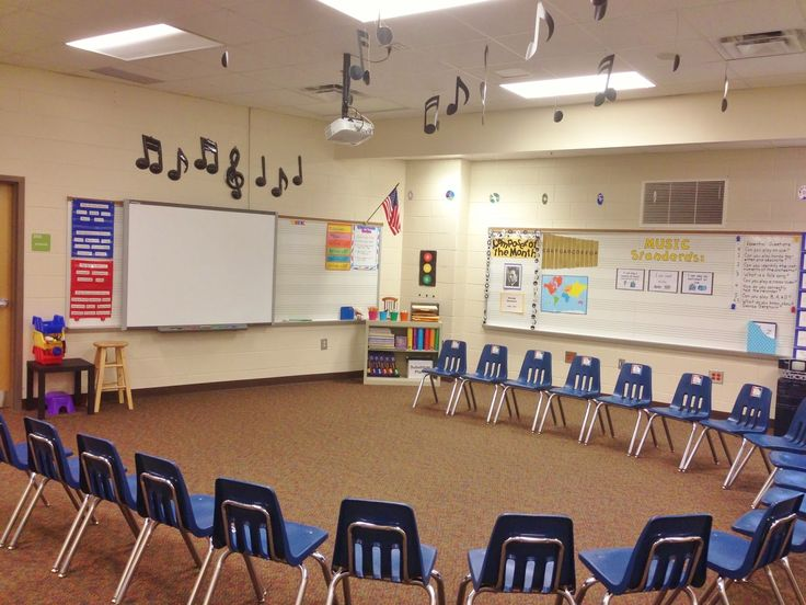 Decorating Elementary Classrooms ~ Best ideas about music room organization on pinterest