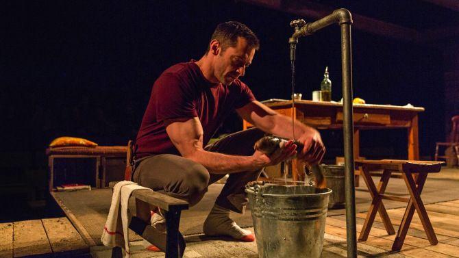 The River review Hugh Jackman Broadway