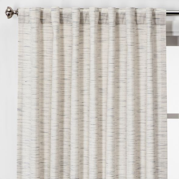 Striation Herringbone Light Filtering Curtain Panels Project 62