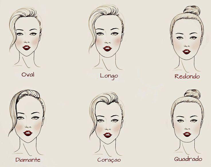 10 Melhores Ideias Sobre Penteados Para Rosto Quadrado No